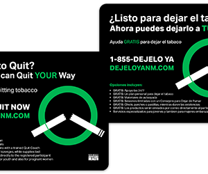 Front and back of Provider card